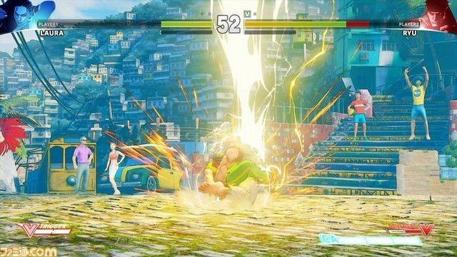 Se filtra Laura, nueva luchadora de Street Fighter V