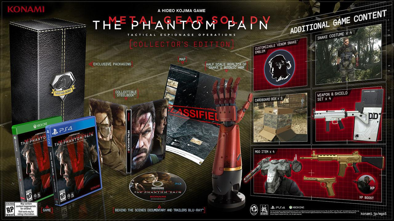 Metal Gear Solid V: The Phantom Pain desvela sus ediciones especiales 201534144939_1