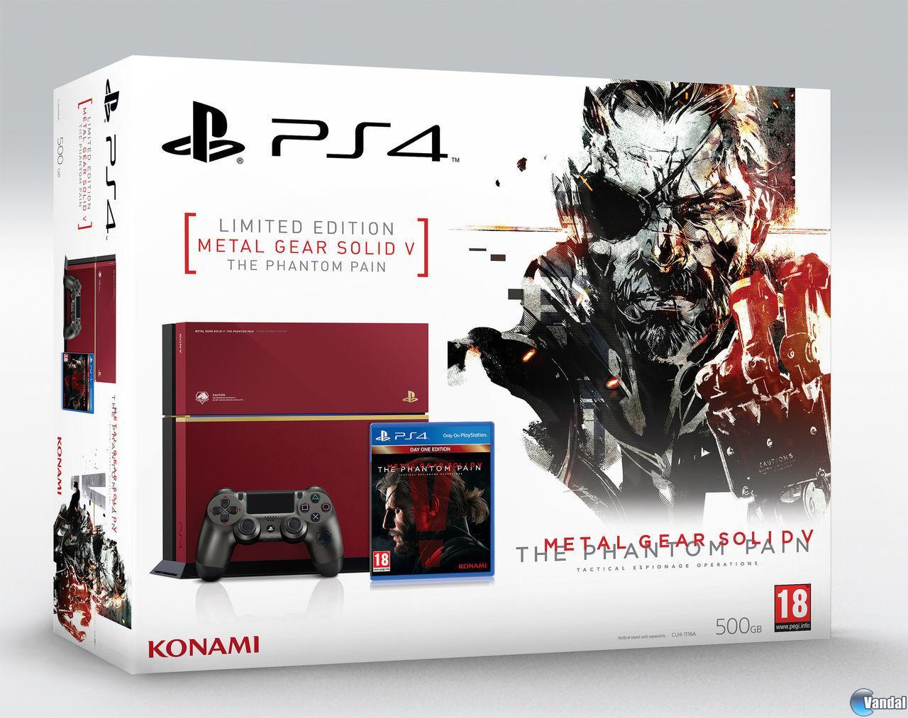 La PS4 Edición Limitada de Metal Gear Solid V: The Phantom Pain llegará a Europa 201569151524_1