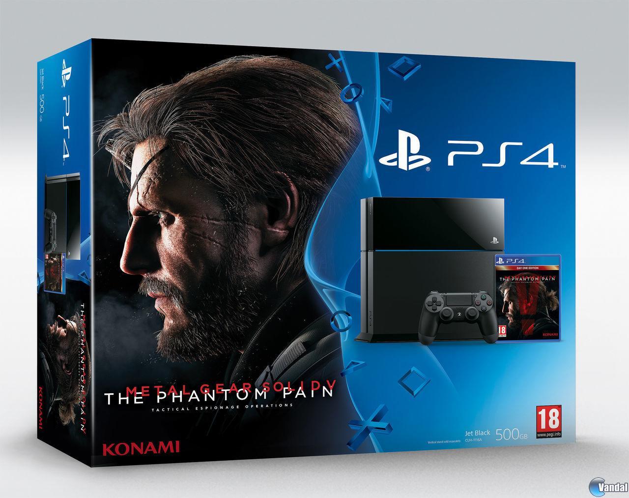 La PS4 Edición Limitada de Metal Gear Solid V: The Phantom Pain llegará a Europa 201569151524_5
