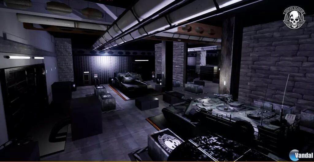 El proyecto independiente español Outer Heaven quiere recrear el Metal Gear de MSX 2015917193759_1