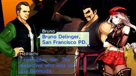 Bruno (nombre varonil donde los haya) no quiso perderse aquel festival llamado 'Project X Zone'.