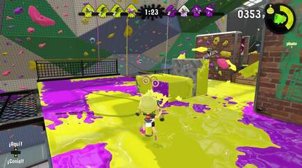 Splatoon 2 uses variable resolution, but the rate of images per second in games is 60 fully stable images.