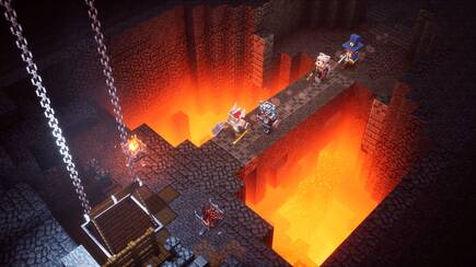The dungeons are generated randomly, so each game has to be