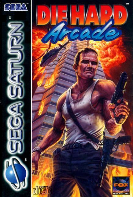 La carátula occidental de Saturn, a pesar de tener la licencia oficial, apostó por una suerte de garrulo como imagen del juego.