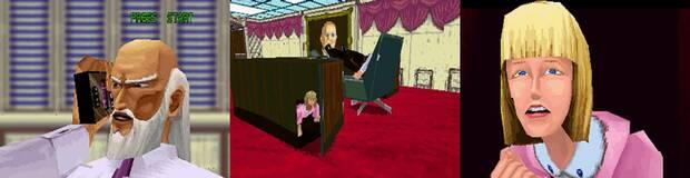 El lerdo de Hongo no sospechaba que la hija del presidente se ocultaba dentro de su mesa.