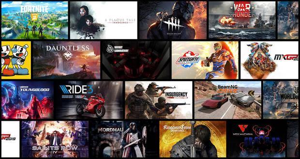 Juegos GeForce Now