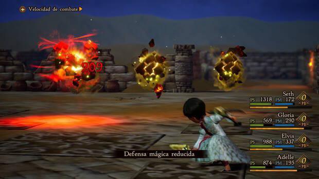 Los combates volverán a ser muy vistosos y tácticos y podremos escoger la dificultad general del juego entre tres niveles diferentes.