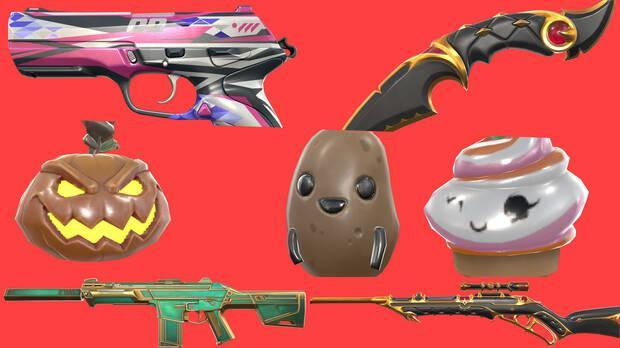 Estos son solo algunos de los amuletos y de las skins que estarán incluidos en el pase de batalla.