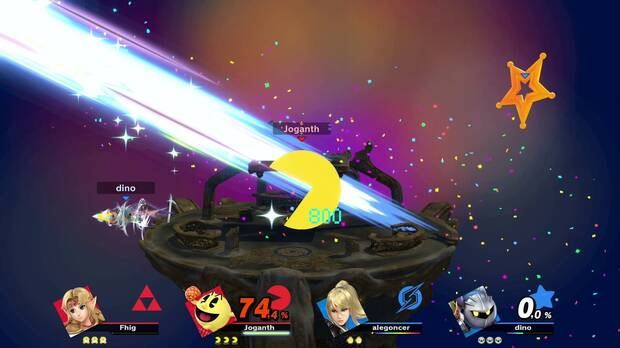 The Final Smash have been retouched and those that imply a transformation that gave us total control over the character have been removed.