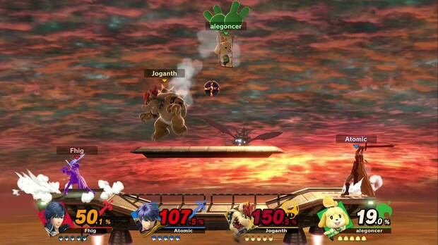 Now we can load our Smash attacks much longer than before, giving us a greater margin to deceive our rival.