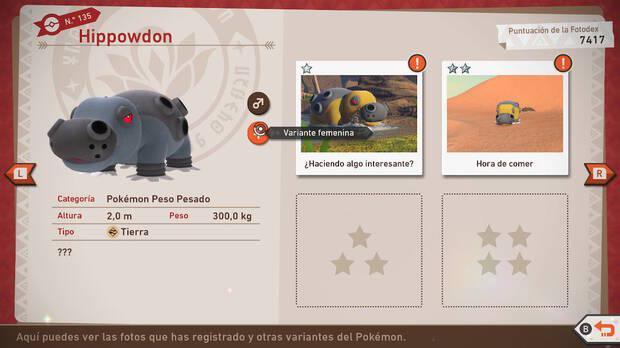 La Fotodex nos ofrece descripciones de cada especie, su modelado tridimensional y sus variables, si las hay.
