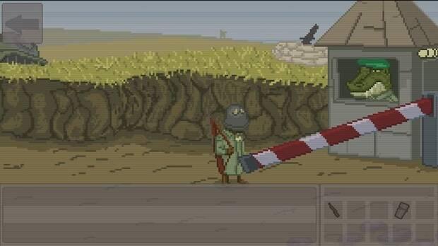 'Frontier to Nowhere', uno de los juegos de Verz con Stephan Haldaman.