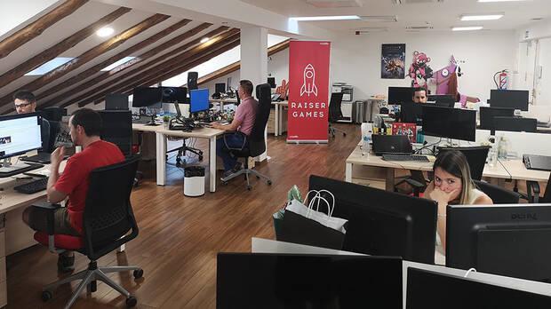 Oficinas de Raiser Games.