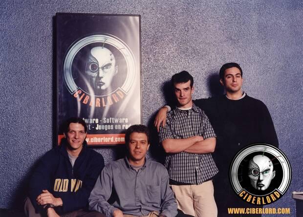 Los socios fundadores de Ciberlord.