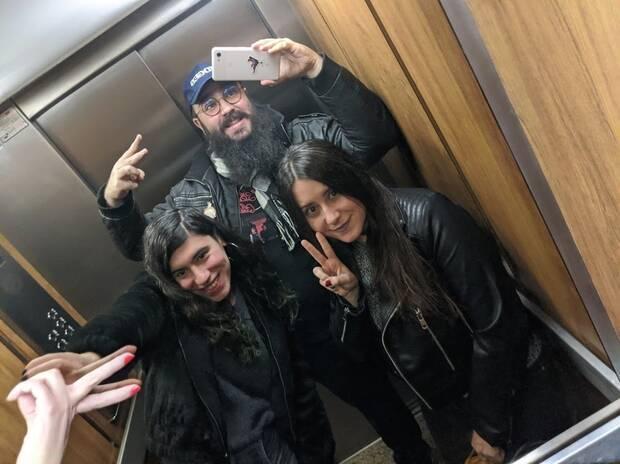 Paula Ruiz, Jordi De Paco y Marina Gonz
