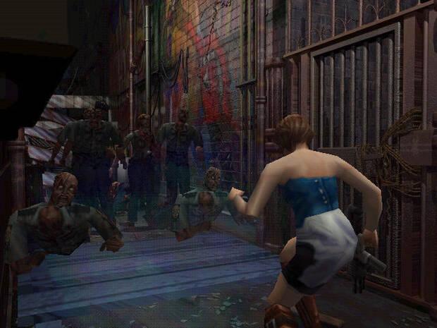 Aunque Jill era la gran protagonista, en un determinado momento de la trama pasaríamos a controlar temporalmente al mercenario Carlos Oliveira.