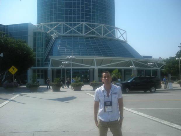 En el E3 de 2008.