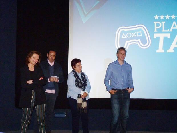 De izquierda a derecha: Liliana Laporte, Roberto Yeste, María López y Jorge Huguet.