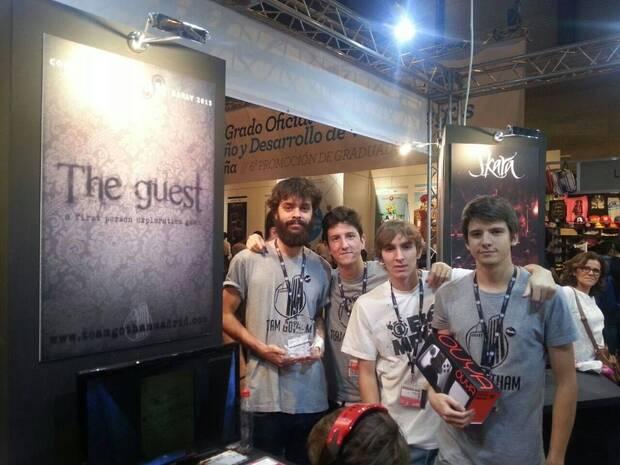 Team Gotham presenta 'The Guest' en Madrid Games Week, el primer evento del estudio, en 2014.