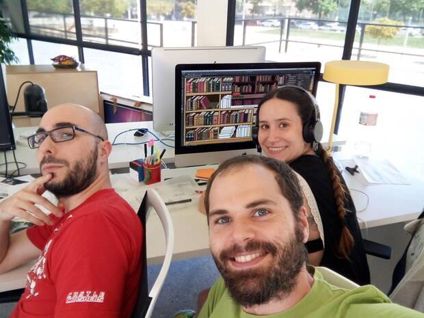 Los integrantes de Mango Protocol durante el proceso de aceleraci