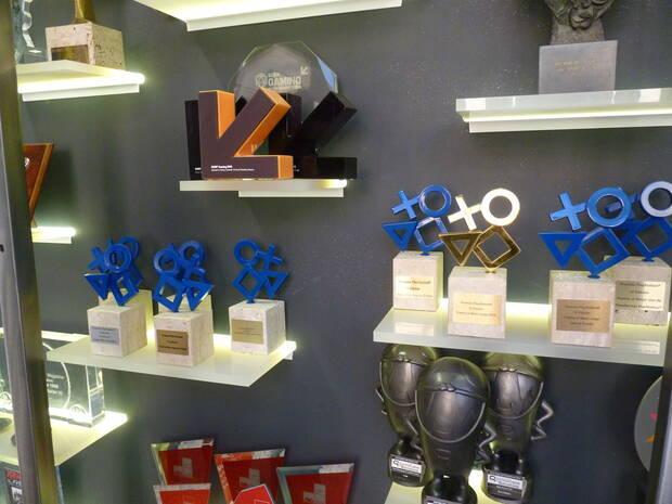 Algunos de los premios conseguidos por alumnos de U-tad.