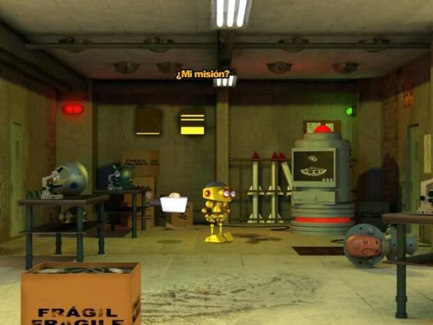 'Nuts & Scrap' estaba protagonizado por dos robots.