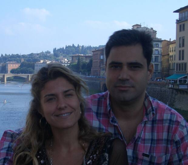 Pablo Ruiz y su mujer, Pizco Rodr