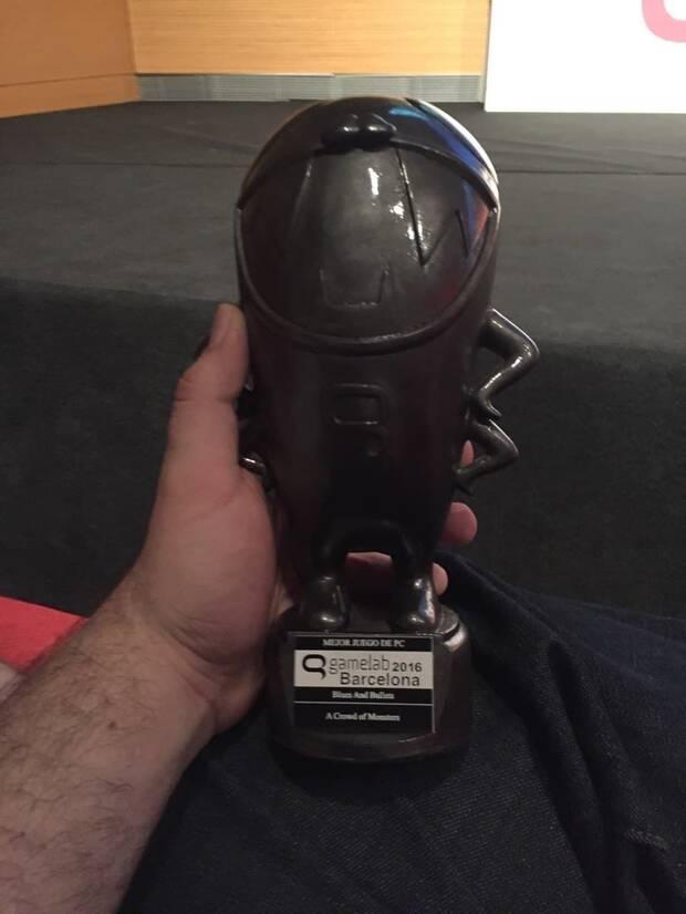 'Blues and Bullets' obtuvo tres pulgas en los Premios Nacionales del Videojuego.