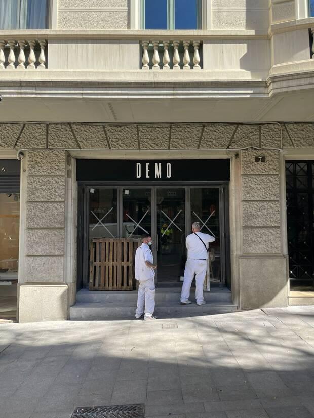 El 17 de mayo Robles abre un restaurante, Demo, en Barcelona.