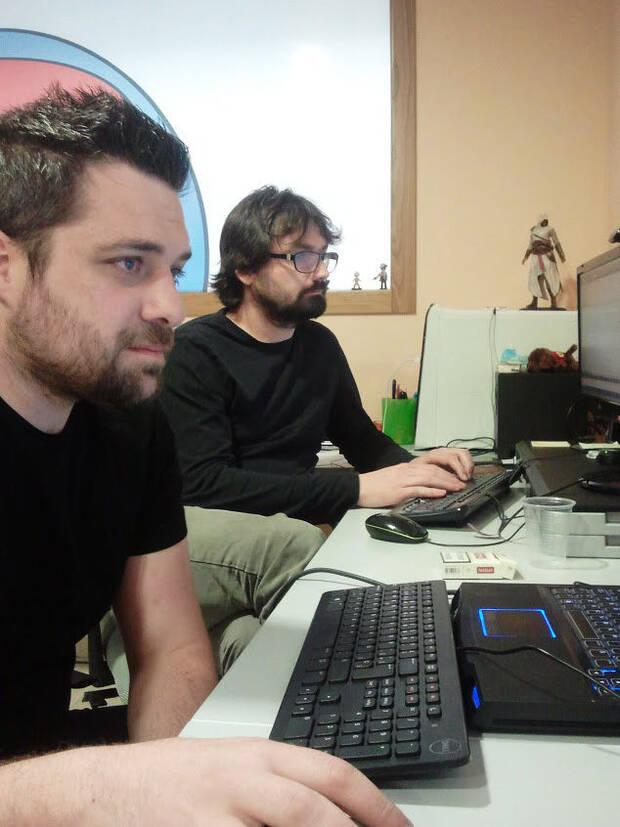 David Ferri y Enrique David, fundadores de Spherical Pixel, en 2013.