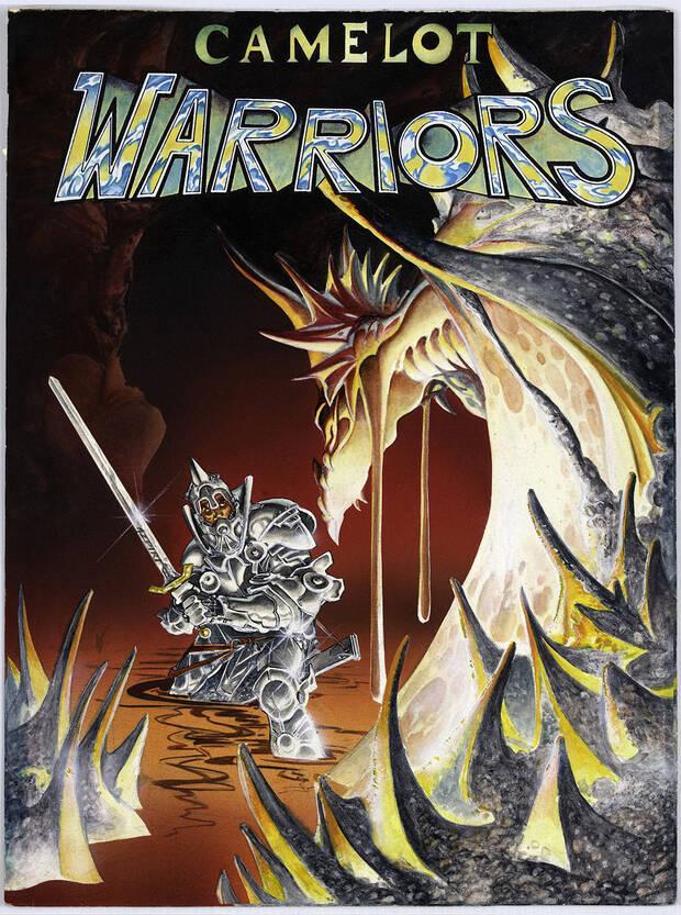 Portada de 'Camelot Warriors', la imagen inferior muestra c