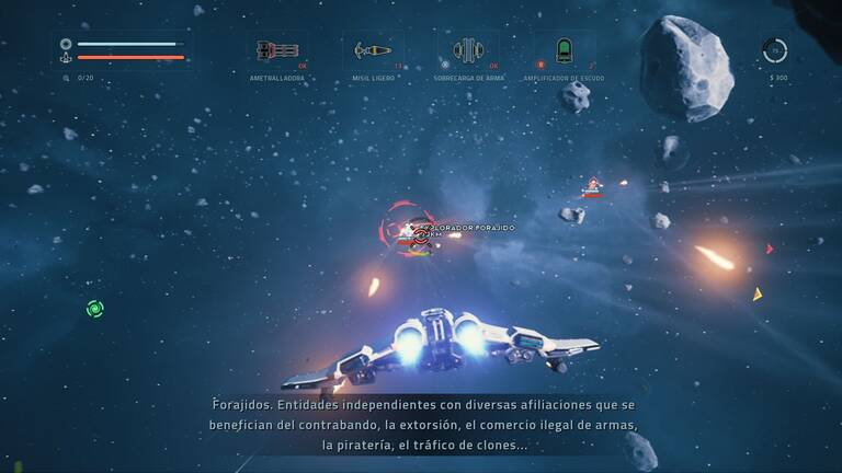 Análisis Everspace - PC, PS4, Switch, Xbox One