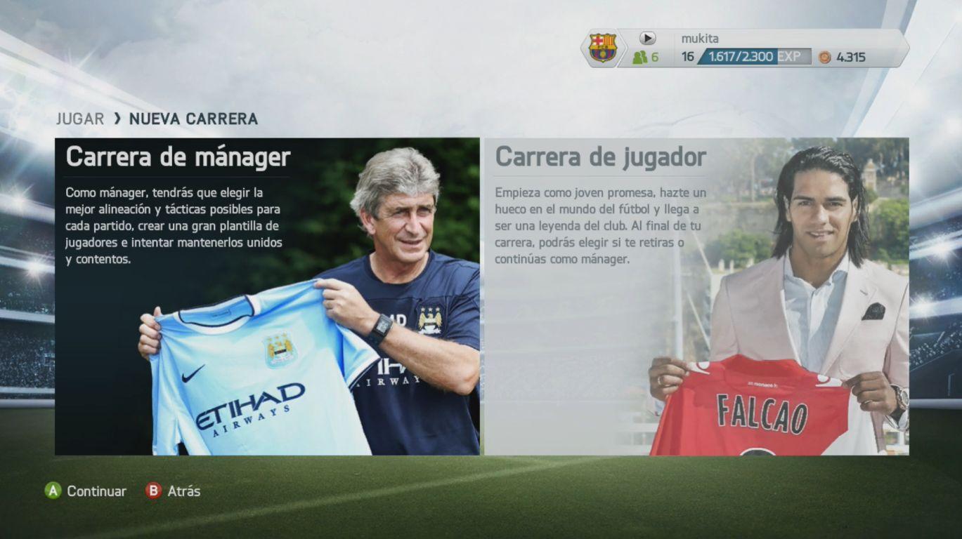 Carrera FIFA 14 - Guía