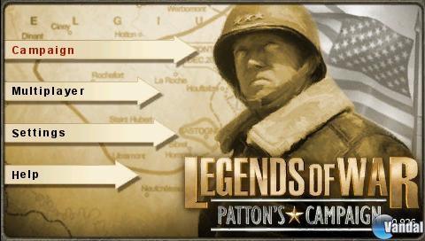 Análisis Legends of War: Patton\'s Campaign - PSP