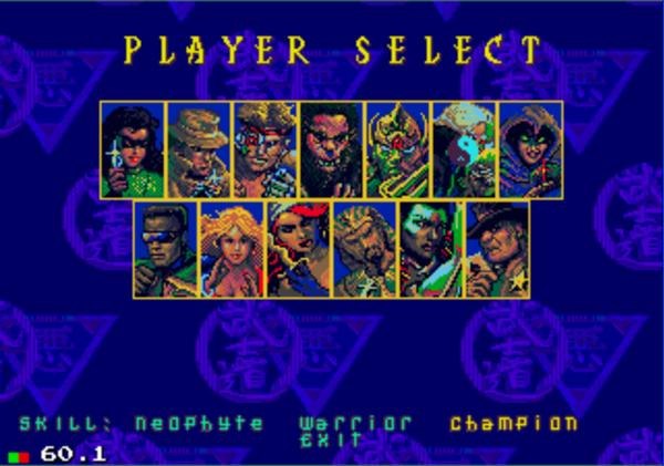Sega Mega Drive Lucha