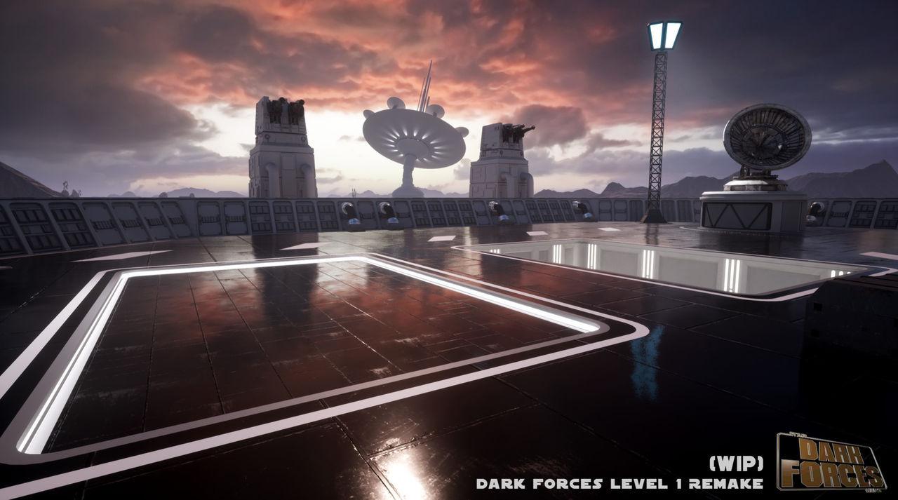 Star Wars: Dark Forces remake - En esto trabaja parte del personal