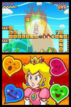 En 'Super Princess Peach' los movimientos especiales de la princesa se basan en emociones y condicionan la jugabilidad.