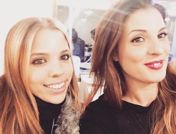 Oliveras con Elena 'Minervae' Pe