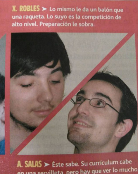 Xavi Robles en su