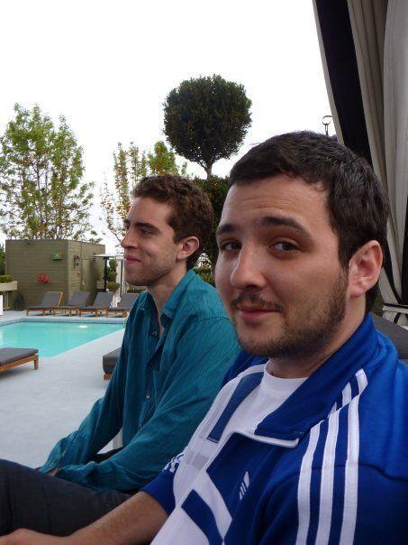 Robles en su primer E3, junto a Albert Garc